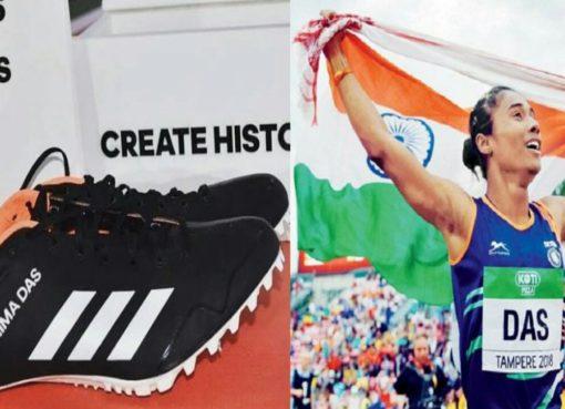 Hima Das Adidas Shoes