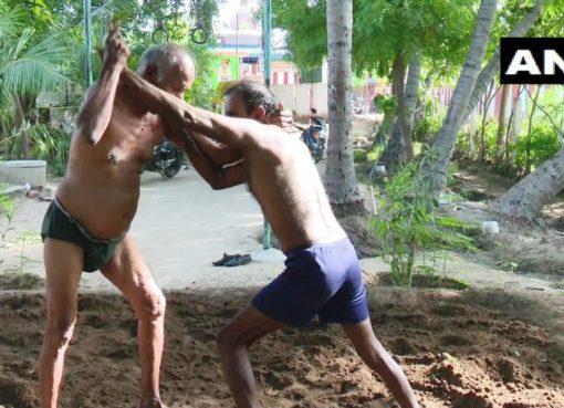 Oldest wrestler