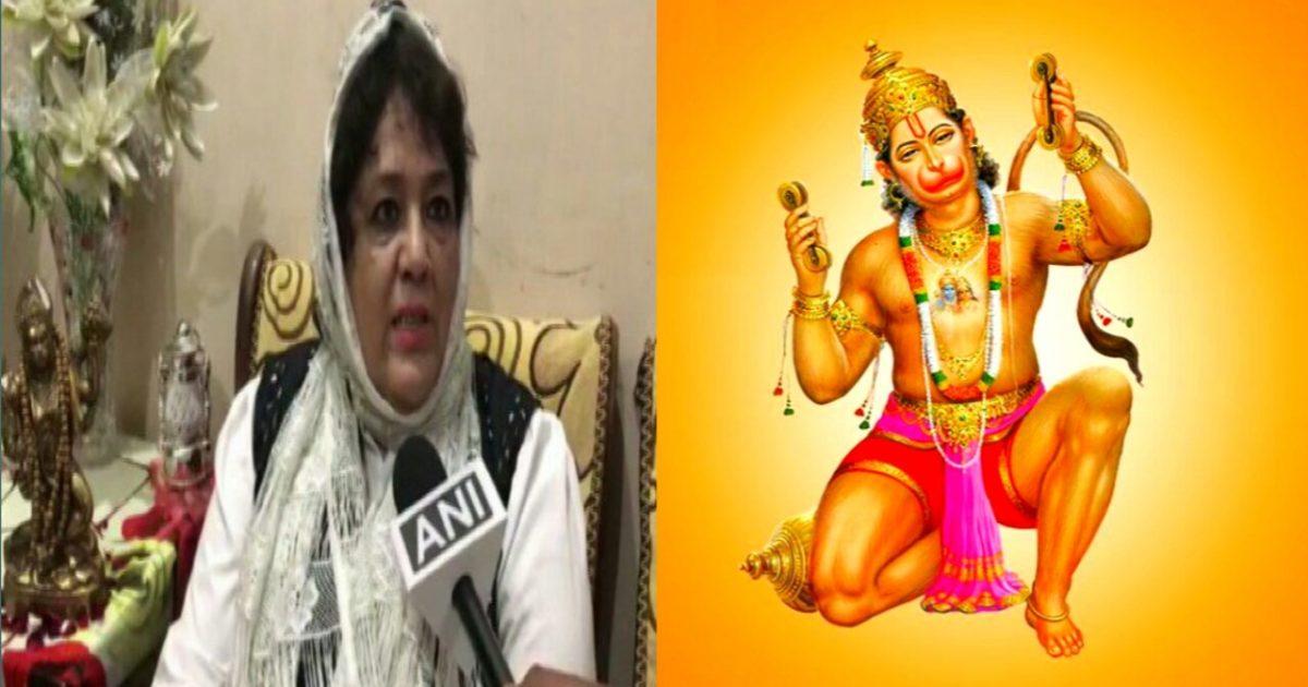 Shaheen Parvez Hanuman Bhakt