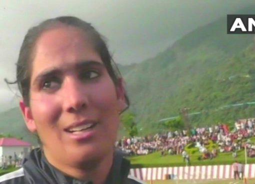 Nahida Nabi Wrestler Kashmir