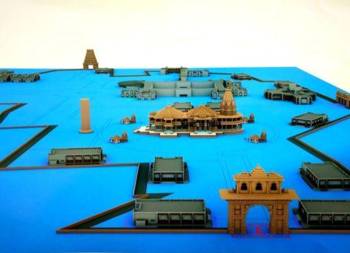 Ram Mandir Ayodhya Model