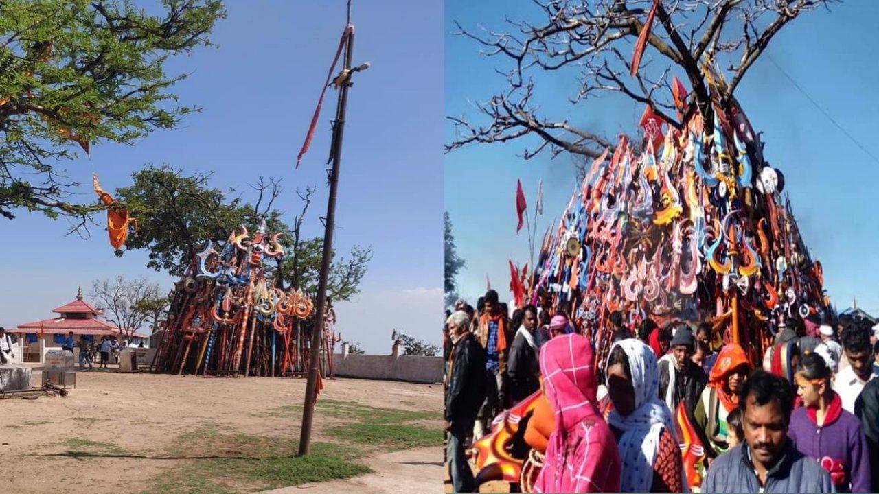 Chauragarh Mahadev Mandir Pachmarhi info