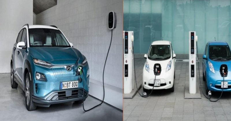 Old car now Electric Car
