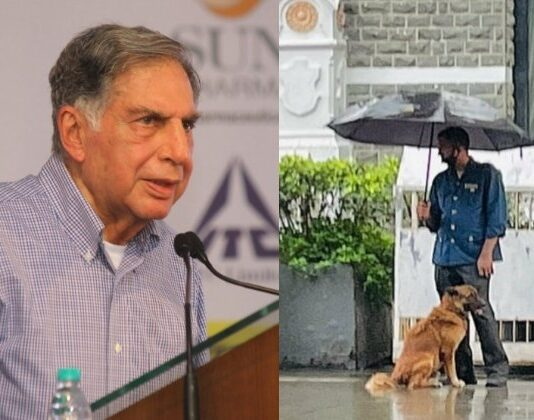 Ratan Tata Dog Post
