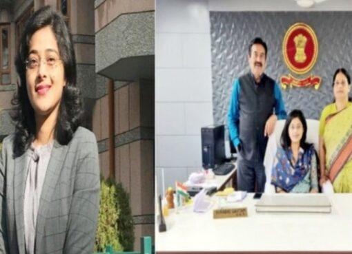 Anukriti Sharma IAS