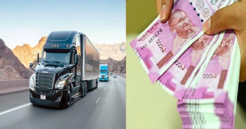 Truck Driver Earning UK