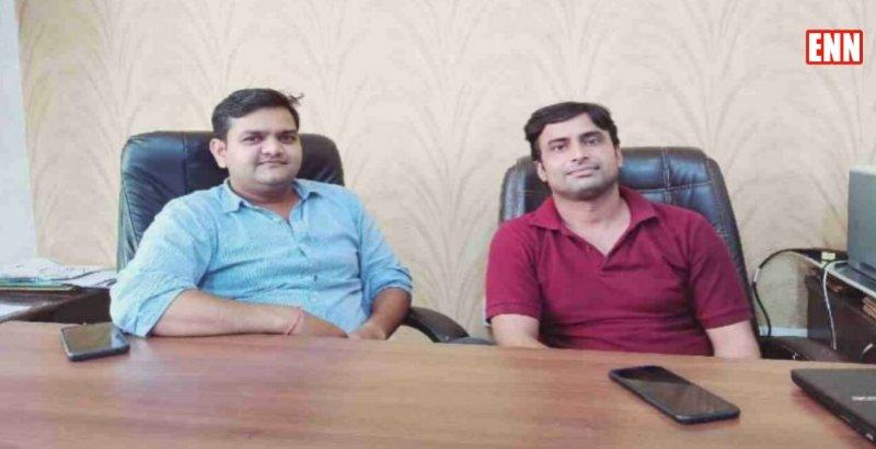 Daya Arya and Upendra Yadav